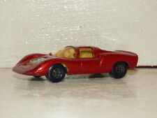 Matchbox Superfast 68 Porsche 910 metallic red