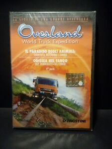2 DVD Overland Il Paradiso degli Animali Odissea nel Fango N°12 Nuovo Blisterato