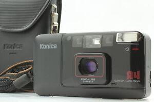 [Near MINT Konica BIG Mini A4 Point & Shoot 35mm Film Camera Black JAPAN
