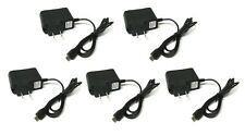 5x Micro USB Home Wall AC Charger for Blackberry HTC LG Samsung Cell PHone