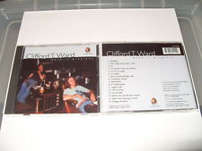 Clifford T. Ward - Work in Progress (2003) cd 16 tracks New Rare!!