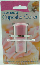 NEAT IDEAS Cupcake Corer - makes perfect holes for filling / decorating cakes
