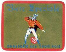 Vintage Biere Speciale Label - Menen, Belgium
