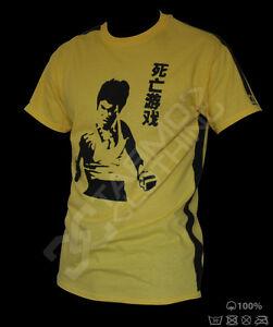 Bruce Lee T-shirt - jeet kune do mma yellow Training
