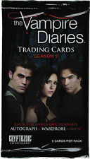 Vampire Diaries Season 2 Vampire Diaries Season Two Factory Sealed Card Pack