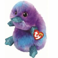 e3d142433d6 Ty Beanie Babies 36445 Boos Zappy the Purple Platypus Boo Buddy
