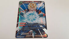 VEGETTO FORCE CONCENTREE BT2 012 - SUPER RARE - NEUF - CARTE DRAGON BALL