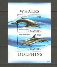 Wale Delfine Gambia Block 768 postfrisch