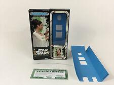 "Custom Vintage Star Wars 12"" Insertos + Caja ceremonial Princesa Leia"