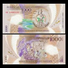 Vanuatu 1000 Vatu, 2014, P-New, Polymer, UNC Banknote