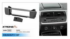1Din Radio Fascia Facia Dash For BMW Z4 E85 2.0i 2.2i 2.5i M Roadster 2003-09