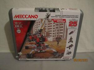 Meccano Erector Super Construction Set 25 in 1 ~ New / Sealed.!!!