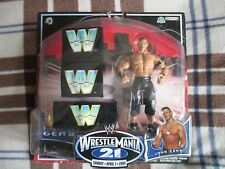 WWE WRESTLING SET 2005 JOHN CENA CON FASCIA E POLSINI