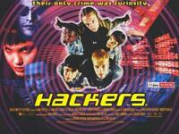 Hackers Movie POSTER 11 x 17 Felicity Huffman, Angelina Jolie, B