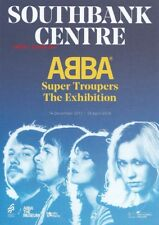Abba 2 x Super Troupers Exhibition Flyers Promo Card *London Mamma Mia Uk Sos