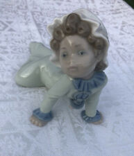 Vintage Lladro Baby Crawling With Pacifier #5101 Daisa 1980 Figurine Retired