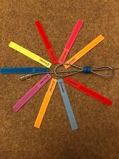 Velcro Boucle Attaches de câbles, tywrap tiewrap, PK 10 couleurs assort. LIVRAISON GRATUITE