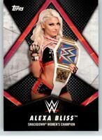 2018 WWE Women's Division Champions #22 Alexa Bliss
