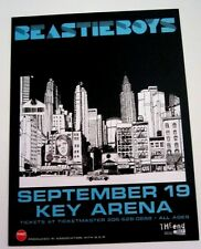 Beastie Boys 2004 Original Two-Sided Seattle Wa Concert Handbill