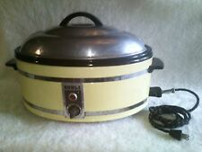RARE VTG NORGE ELECTRIC OVEN BORG WARNER SLOWCOOKER CROCKPOT KITCHEN DETROIT