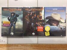 Yellowstone Seasons 1-3 DVD Set Complete series Brand New