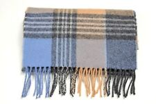 * Tie Rack London Men's Pure New Wool Scarf Checked Scarf