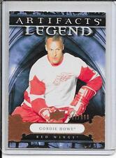 09-10 Artifacts Gordie Howe Legend # 134