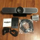 Logitech Meetup V-R0007 4K Camera & Speaker System With Remote/Cables *Like New*