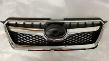 Completed Front Grille Grill Assembly 13 14 15 Subaru XV Crosstrek Trim Molding