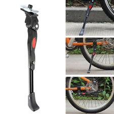 Negro bicicleta ajustable aleación de aluminio lado soporte apoyo componente