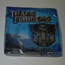 NEW 1 Package Transformers Revenge of Fallen Napkins Birthday Party DesignWare