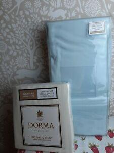 Dorma duck egg blue Superking duvet set
