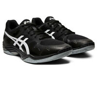 Asics Mens Gel-Tactic 2 Court Shoes - Black Sports Squash Breathable Lightweight