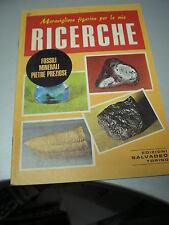FIGURINE RICERCHE SALVADEO n. 37 FOSSILI MINERALI PIETRE PREZIOSE, 1979