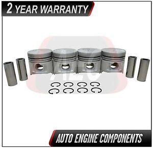 Pistons Set Fits Dodge H100 2.5 L SOHC 4D56 - SIZE STD