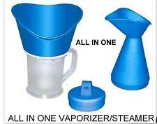 ALL IN 1 Face Facial Steamer Deep Cleanser Mist Steam Sauna Spa Skin/COLD &COUGH