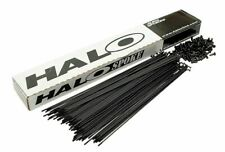 36 Halo BMX Spokes - Black or Silver Stainless with Nipples