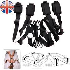 *UK Seller* Under Bed Restraints Mattress Bondage Hand Leg Cuffs Sex Toy Straps