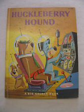 Rare Vintage Huckleberry Hound 1960 by Carl Memling~Golden Book~1st Edition