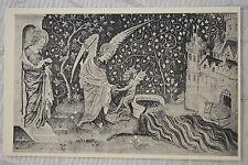 """CPA """" ANGERS - Musée des Tapisseries - Apocalypse - L'Ange et le Démon"""