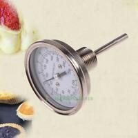 """1/2"""" Stainless Steel Thermometer Dial for BBQ Moonshine Still Condenser Brew Pot"""