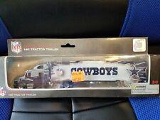 Press Pass Inc 2009 1:80 scale Nfl tractor trailer Dallas Cowboys