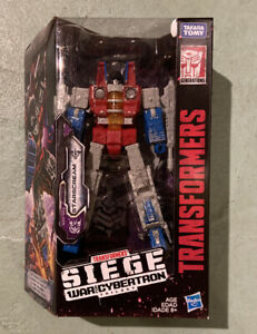 Transformers Siege War for Cybertron Voyager Class Starscream Hasbro NEW Sealed