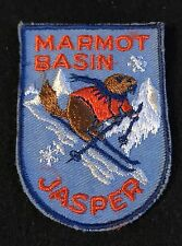 MARMOT BASIN JASPER Skiing SKI Patch Calgary Alberta CANADA Resort Travel