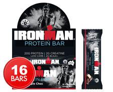 16 X 65g IRONMAN Protein Bar Triple Choc Bars