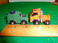 Vintage 1974-1983 Takara Japan Lot of Two Transformers