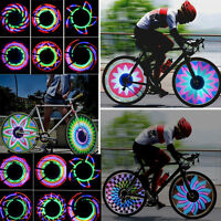 Bicycle Motorcycle Car Bike Tyre Tire Wheel Valve Flash Spoke Light Lamp 36 LED