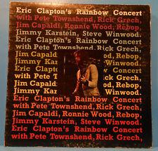 ERIC CLAPTON'S RAINBOW CONCERT LP 1973 ORIGINAL WINWOOD GREAT COND! VG+/VG!!