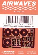 "Airwaves 1/144 Boeing 747 ""Jumbo"" exterior grabado para Airfix Kit # AEC44006"