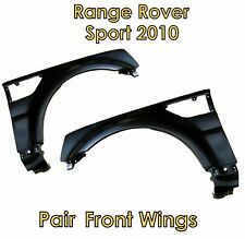 Pair of front wings for Range Rover Sport 2010 upgrade conversion autobiography